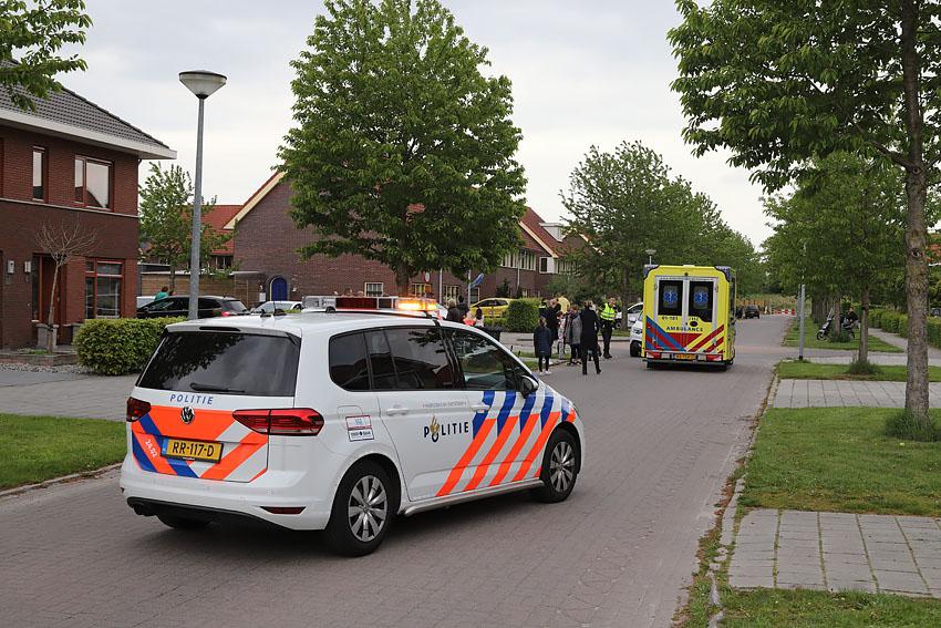 Meisje gewond bij ongeluk op de Boomgaard in Hoogezand